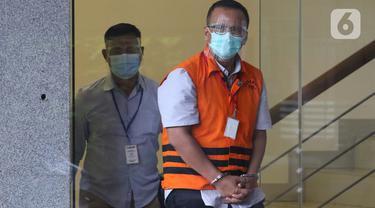 FOTO: KPK Kembali Periksa Mantan Menteri KP Edhy Prabowo