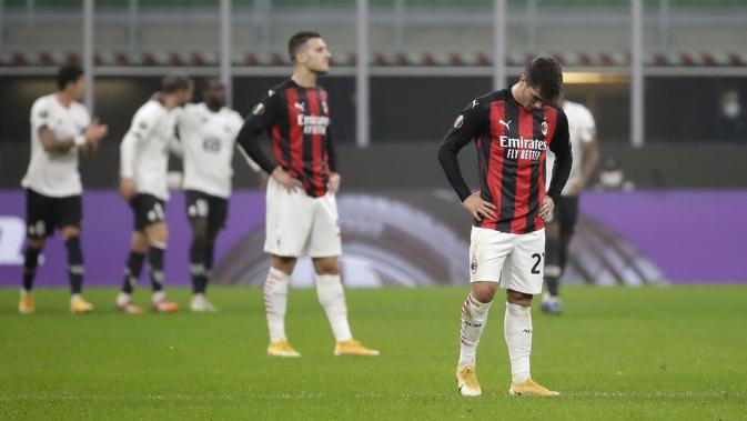 Jadwal Liga Europa Matchday 4 Pekan Ini : AC Milan Siap Balas Kekalahan