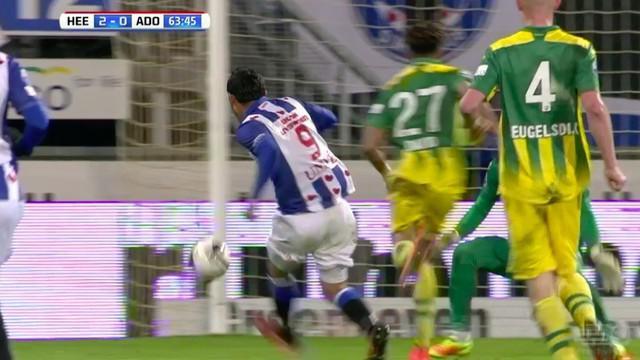 Reza Ghoochannejhad, striker Heerenven asal Iran ini mencetak dua gol dalam 64 detik di Eredivisie Belanda