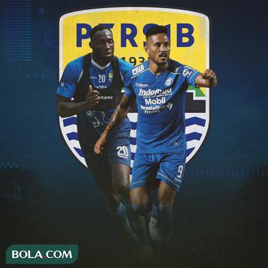 Persib Bandung - Geoffrey Castillion dan Wander Luiz