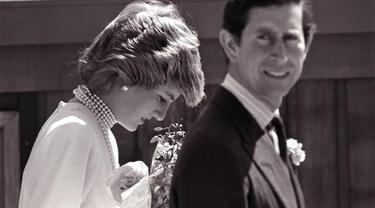 Putri Diana dan Pangeran Charles pada 1986