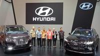 Peluncuran all new Hyundai Santa Fe dan new H-1 2018.(Hyundai)