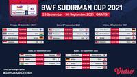 Jadwal Piala Sudirman Cup 2021