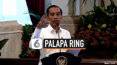 Presiden Joko Widodo hari ini meresmikan proyek Palapa Ring. Jokowi mengatakan adanya Palapa Ring dapat memberikan banyak manfaat, salah satunya mudahnya riset data pasar Indonesia.