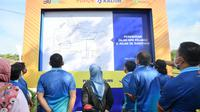 Pupuk Kaltim, resmikan dua jalan di kawasan sekitar Perusahaan (dok: PKT)