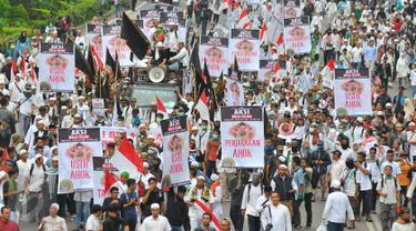20161004-Jalan Thamrin Jadi Lautan Manusia-Jakarta