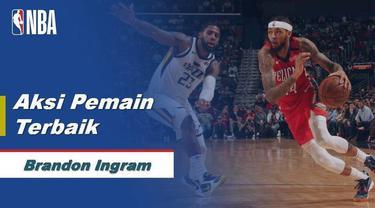 Berita Video Brandon Ingram Cetak 49 Poin Saat New Orleans Pelicans Kalahkan Utah Jazz 138-132