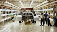 Pabrik Mahindra Vehicle Manufacturers Ltd di Chakan, India (Mahindra)