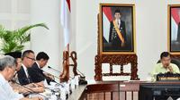 Gubernur NTB Zulkieflimansyah bertemu JK di Kantor Wapres, Jakarta. (Istimewa)