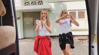 Video Nia Ramadhani dan Jessica Iskandar tembus angka tujuh juta penonton (Instagram/@ramadhaniabakrie)