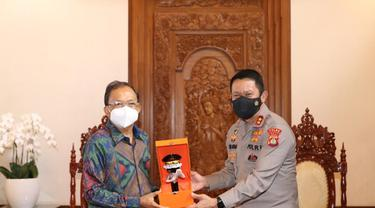 Gubernur Bali Terima Penghargaan dari Kapolri