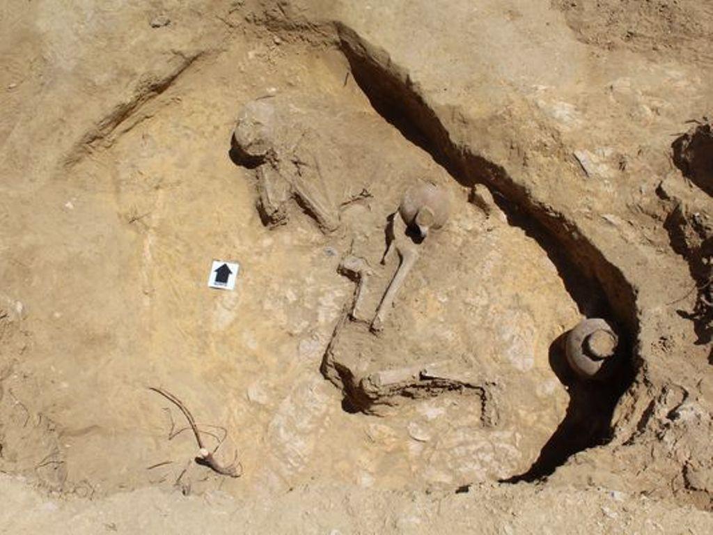 Temuan makam 'Putri Tidur' di Ethiopia (Credit: Graeme Laidlaw)