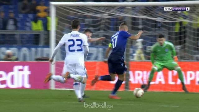 Laga sengit terjadi di stadion Olimpico Roma ketika Lazio ditahan imbang 2-2 oleh Dynamo Kiev pada laga leg pertama babak 16 besar...