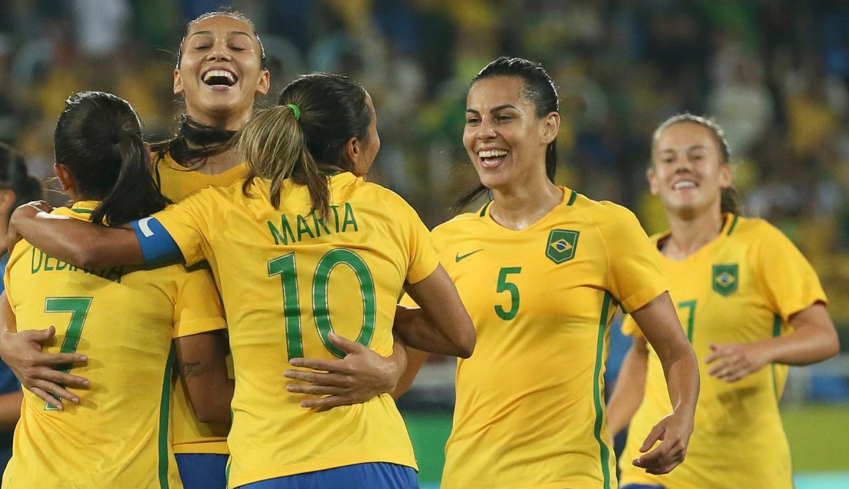 Melihat Kecantikan Timnas Wanita Brasil saat Taklukan ...