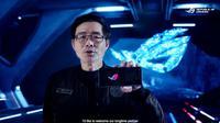 Co-CEO Asus, S.Y. Hsu, saat mengumumkan kehadiran ROG Phone 5. (Doc: Asus)