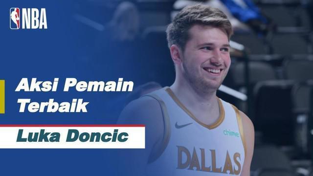 Berita video aksi-aksi keren Luca Doncic saat Dallas Mavericks kalahkan New Orleans Pelicans, 143-130 di NBA, Sabtu (13/2/21)