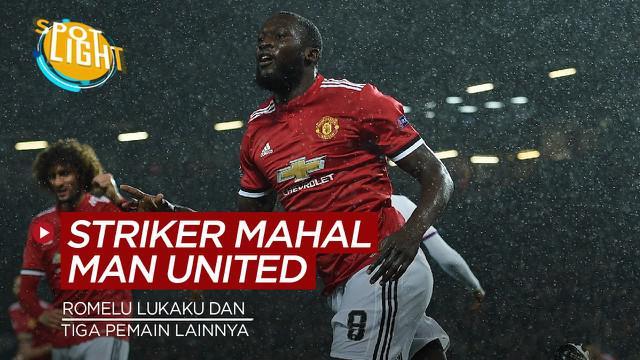 Berita video spotlight kali ini mebahas tentang empat penyerang termahal yang di beli Manchester United, salah satunya Romelu Lukaku.