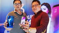 Peluncuran Advan G3 di Jakarta, Jumat (21/9/2018). Liputan6.com/ Andina Librianty