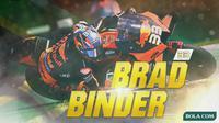 MotoGP - Brad Binder (Bola.com/Adreanus Titus)