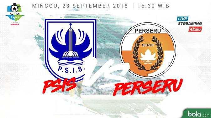 Psis Semarang Vs Perseru Serui