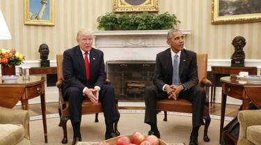 Donald Trump dan Barack Obama