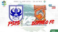 Liga 1 2018 PSIS Semarang Vs Pusamania Borneo FC (Bola.com/Adreanus Titus)