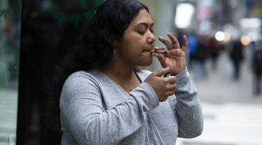New York Resmi Legalkan Penggunaan Ganja