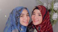 Citra Kirana dan Erica Putri (Foto: Instagram/@ericaputrii)