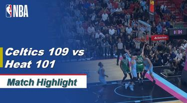 Berita Video Highlights NBA 2019-2020, Boston Celtics Vs Miami Heat 109-101
