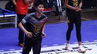 Pemain Jakarta Garuda, Sim Jian Qin, di Proliga 2019. (Bola.com/Aditya Wany)