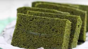 Resep Cara Membuat Green Tea Cake Tanpa Mixer Dan Oven