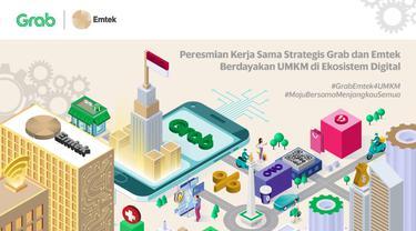 Peresmian Kerjasama Strategis Grab dan Emtek Berdayakan UMKM di Ekosistem Digital. Dok