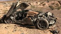 Kecelakaan Misterius, Supercar Seharga Rp 15 Miliar Ini Hancur Lebur (Foto: Carscoops)