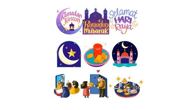 Facebook menghadirkan stiker khusus menyambut Ramadan 2021. (Foto: Facebook Indonesia)