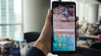 Samsung Galaxy A8 Plus (Liputan6.com/ Agustin Setyo Wardani)