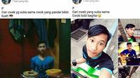 Status Facebook cowok cari pacar (Sumber: Instagram/receh.id)