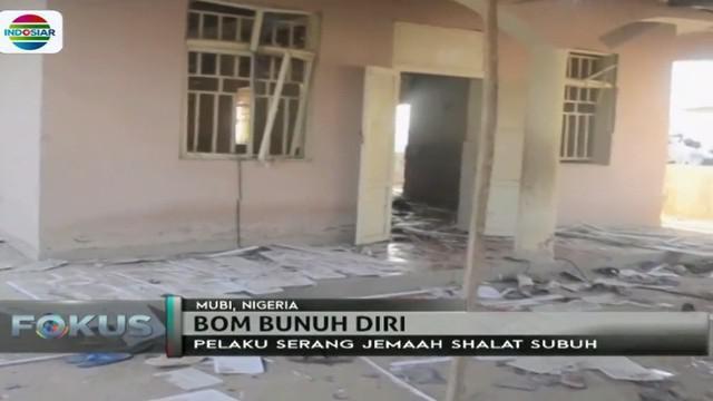 Pelaku seorang remaja masuk ke dalam masjid dan meledakkan diri.
