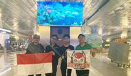 Bigetron telah tiba di Berlin untuk mewakilkan Indonesia dalam ajang PUBG Mobile Club Open (PMCO) 2019. Doc: Bagus