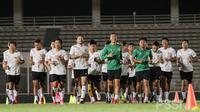 Timnas Indonesia mulai berlatih jelang kualifikasi Piala Dunia 2022. (Dok PSSI)