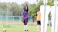 Makan Konate latihan bersama klub Terengganu FC 2 di Malaysia