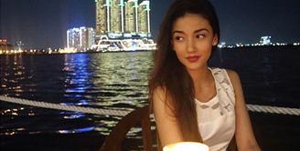Bersama kuasa hukumnya, Tsania Marwa melaporkan Atalarik Syah ke Bareskrim Mabes Polri, Selasa (9/1/2018). Lapor polisi menjadi pilihan terakhir lantaran berbagai upaya telah dilakukan sebelumnya. (Instagram/tsaniamarwa54)