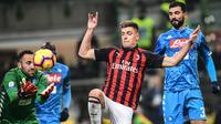 4. Krzysztof Piatek (AC Milan) - 14 gol (AFP/Miguel Medina)