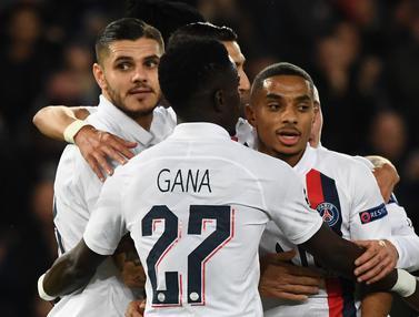Gol Tunggal Icardi Bawa PSG ke Babak 16 Besar Liga Champions
