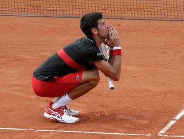 Djokovic Tumbangkan di Perempatfinal Prancis Terbuka