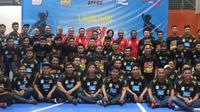 150 pemain muda bergabung dengan Electric PLN Futsal Academy. (Bola.com/Gerry Anugrah Putra)