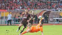 Duel Liga 1 2018 antara PSM Vs Persija  di Stadion Andi Mattalatta Mattoangin, Makassar, Jumat (16/11/2018).  (Bola.com/Dok. Persija)