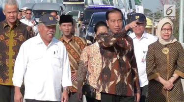 Presiden meminta pengelola jalan tol menyediakan rest area diisi dengan UMKM. Jokowi meminta rest Area dibiarkan kosong