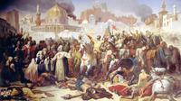 Pasukan Katolik merebut Yerusalem pada Perang Salib I tahun 1099 (Emile Signol / Wikimedia Commons)