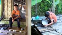 Seorang bocah berusia 10 tahun memutuskan menjadi vegan demi menyambung hidup sebatang kara. (Sumber: World of Buzz)