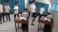 Perundungan mengarah ke tindak penganiayaan dialami CA siswa disabilitas kelas 8 SMP Muhamadiyah, Kecamatan Butuh, Kabupaten Purworejo. (Liputan6.com/ Ist)